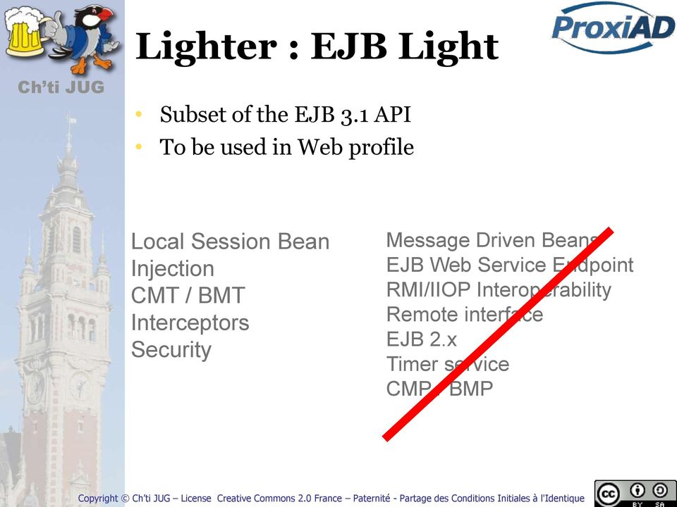 / BMT Interceptors Security Message Driven Beans EJB Web Service