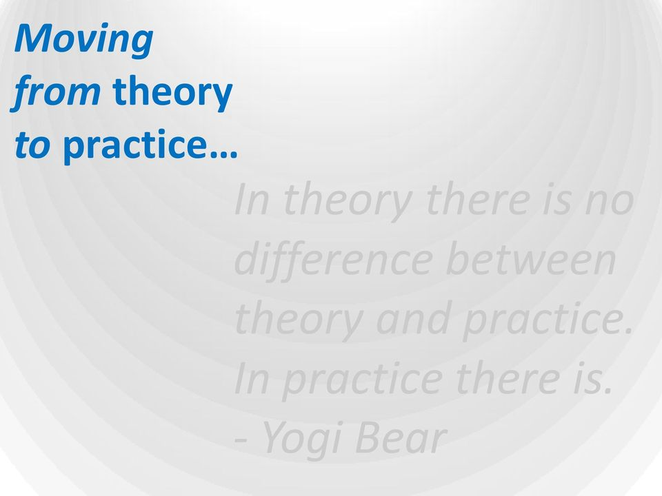 difference between theory and