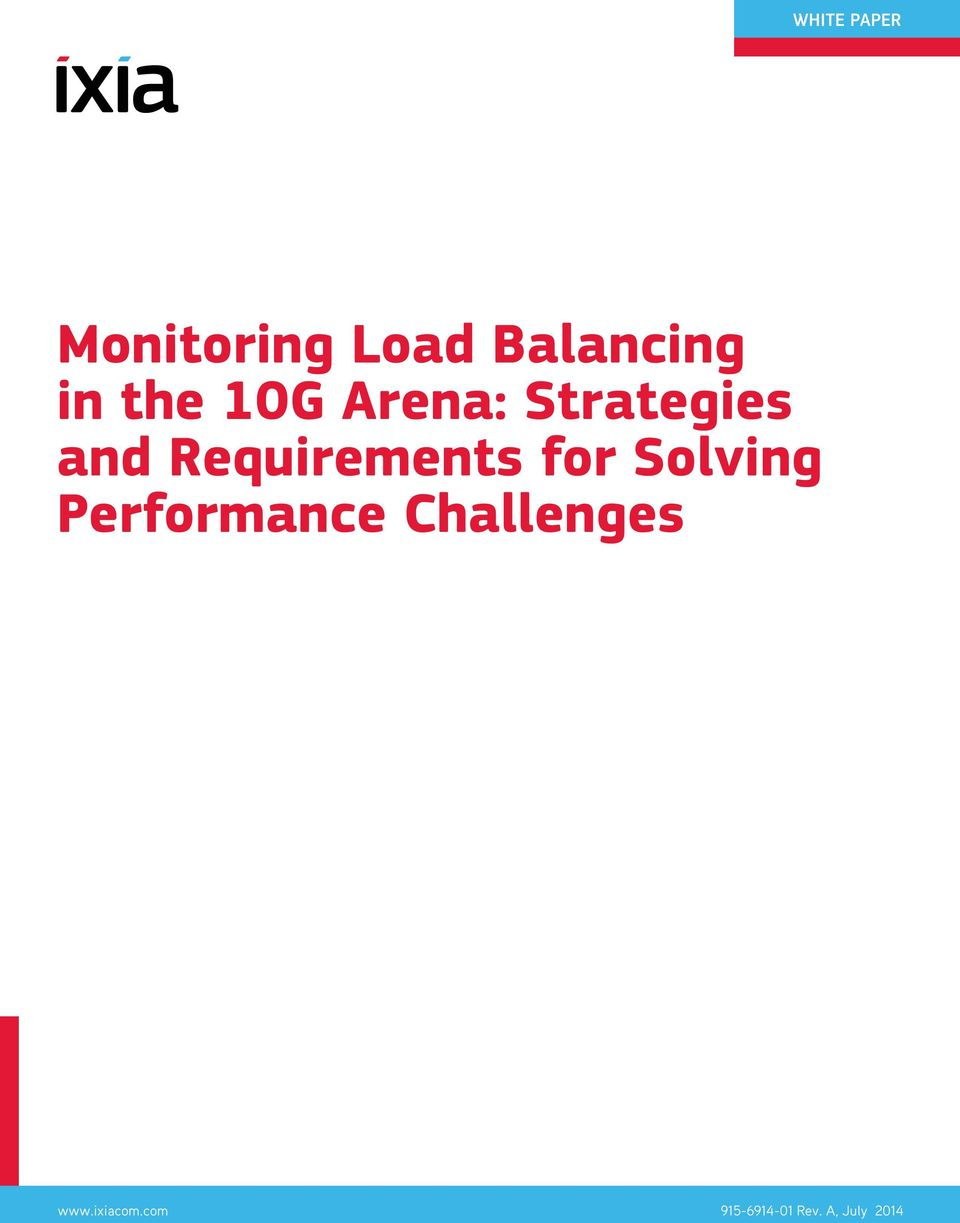 Requirements for Solving Performance