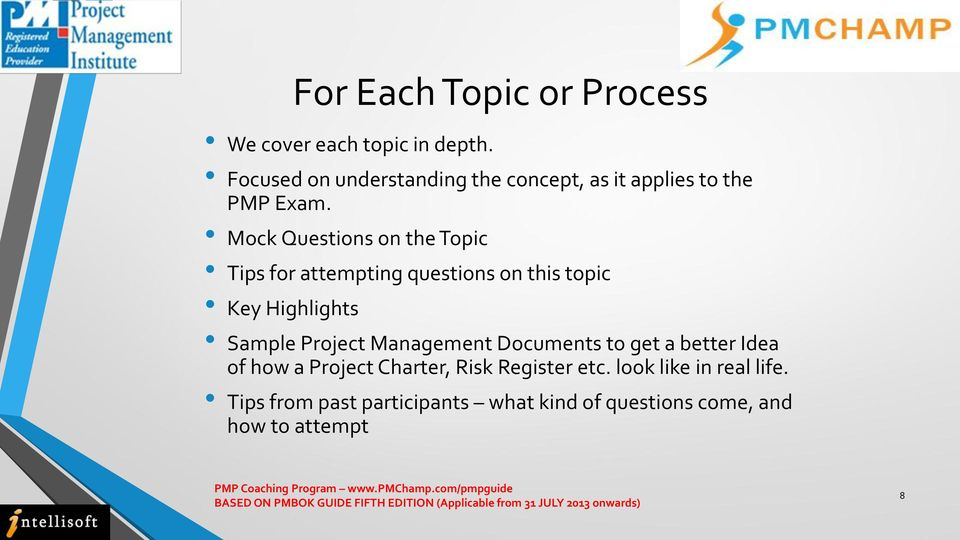 Mock Questions on the Topic Tips for attempting questions on this topic Key Highlights Sample Project