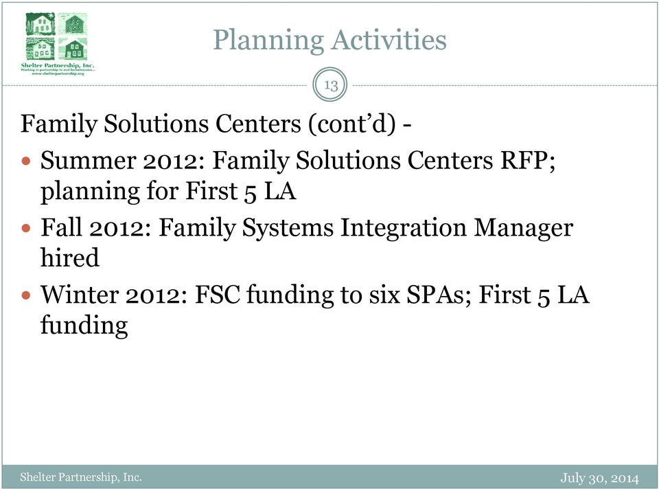 First 5 LA Fall 2012: Family Systems Integration Manager