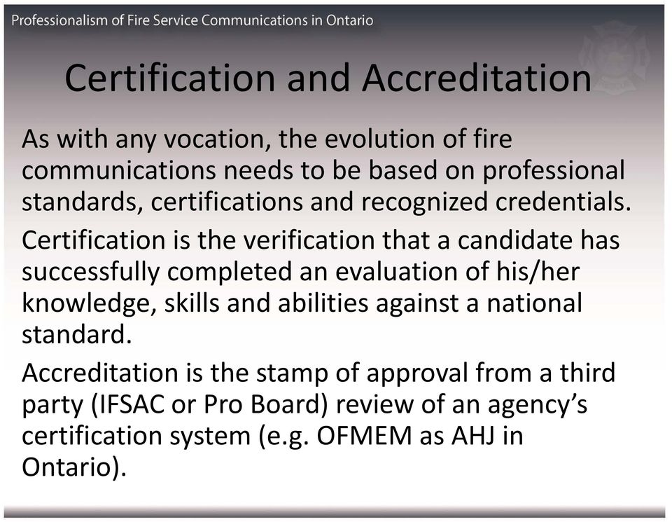 Professionalization Of Fire Communications Pdf
