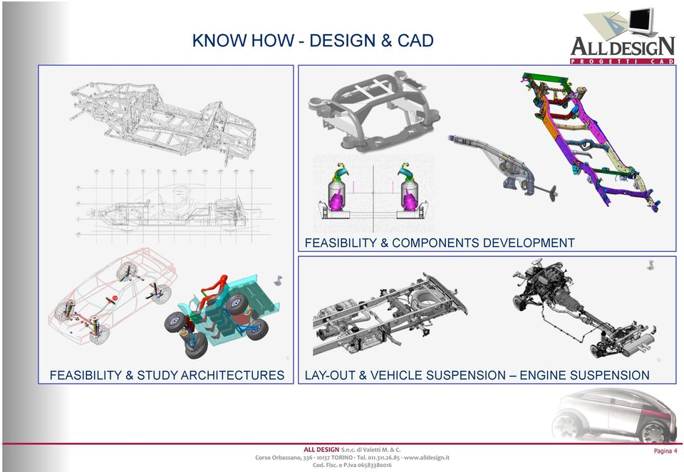 STUDY ARCHITECTURES LAY-OUT & VEHICLE