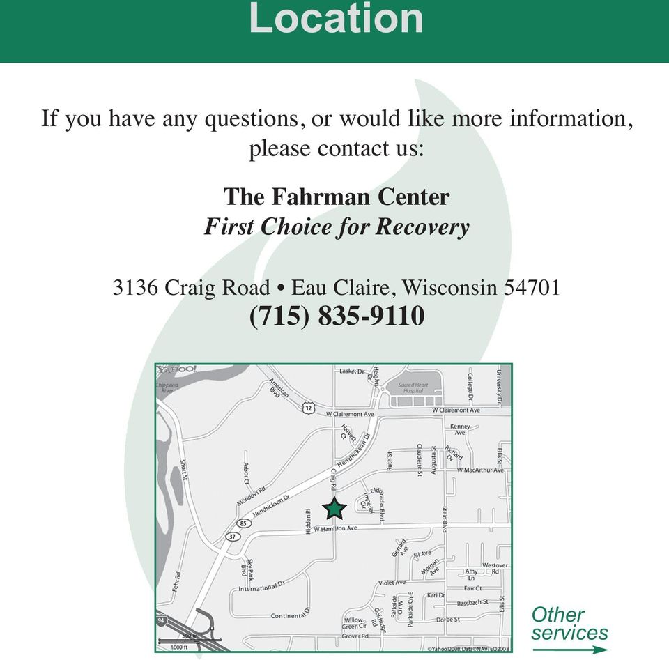 Center First Choice for Recovery 3136 Craig Road