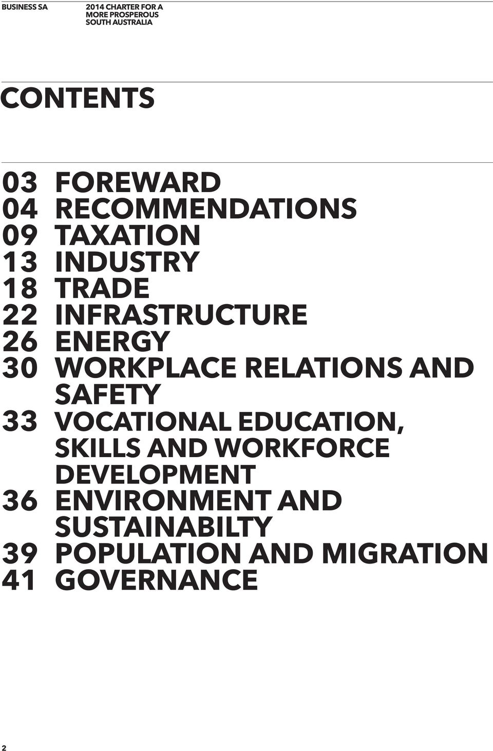 33 VOCATIONAL EDUCATION, SKILLS AND WORKFORCE DEVELOPMENT 36