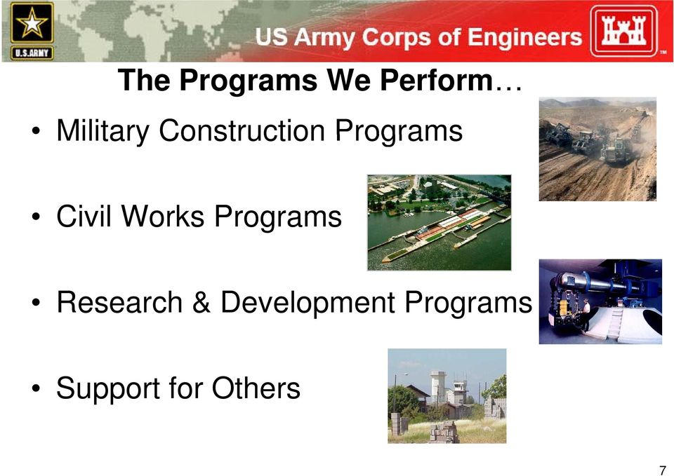 Works Programs Research &