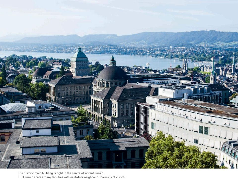 ETH Zurich shares many facilities