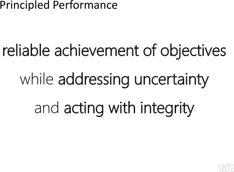 objectives while addressing