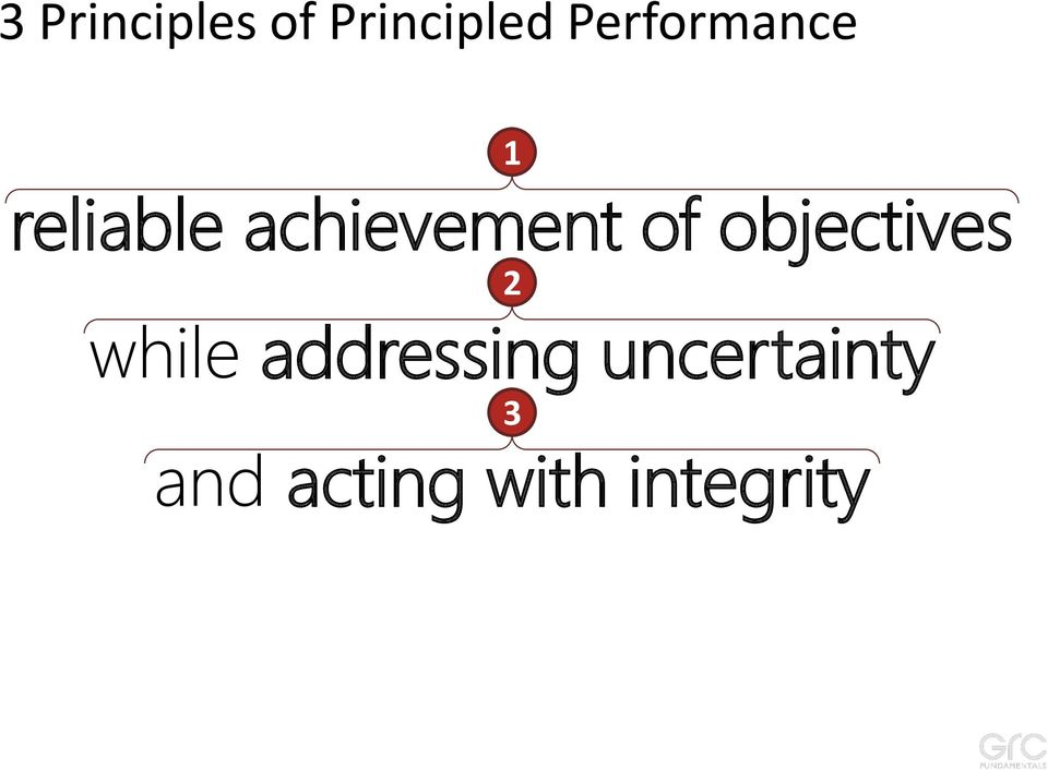 achievement of objectives 2 while