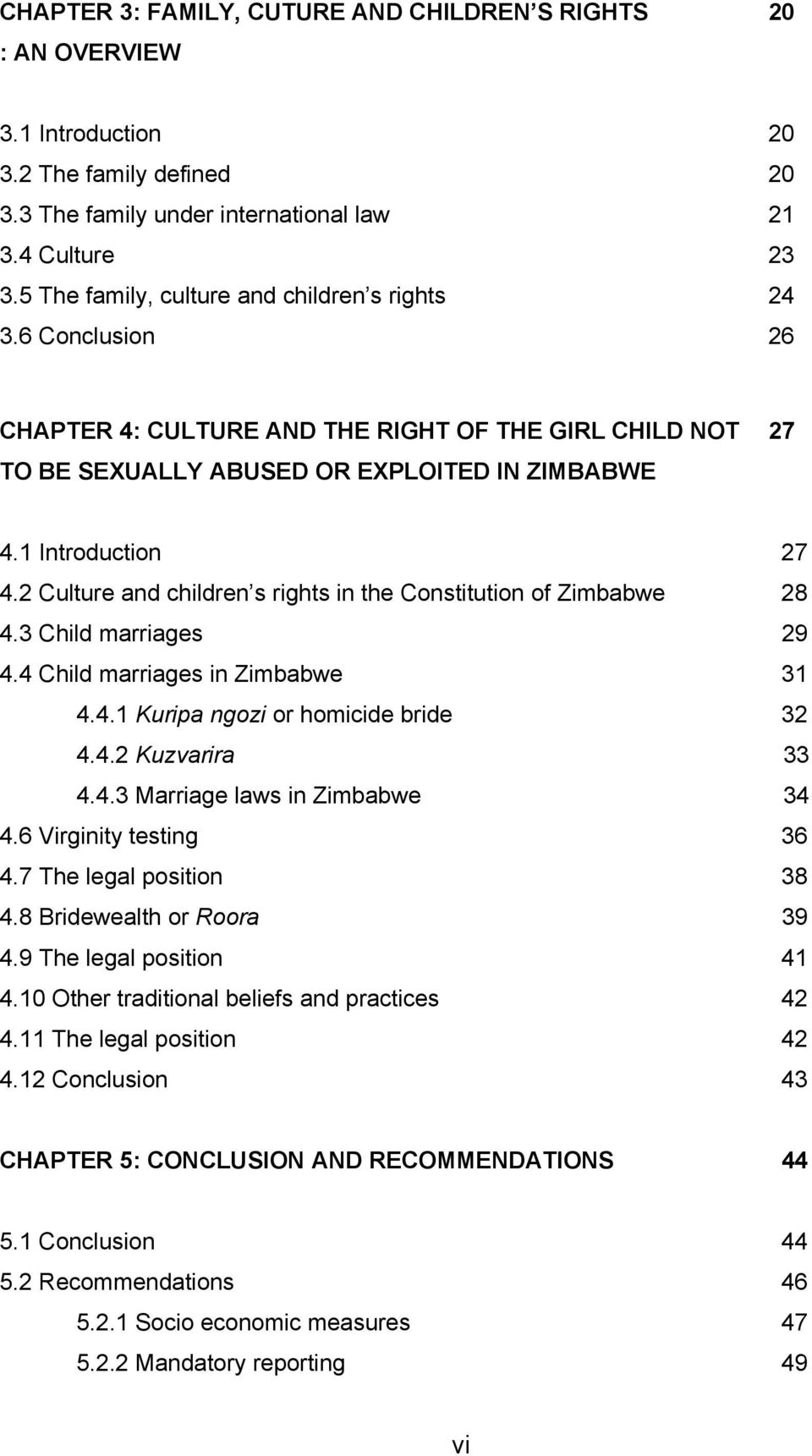 conclusion of child marriage