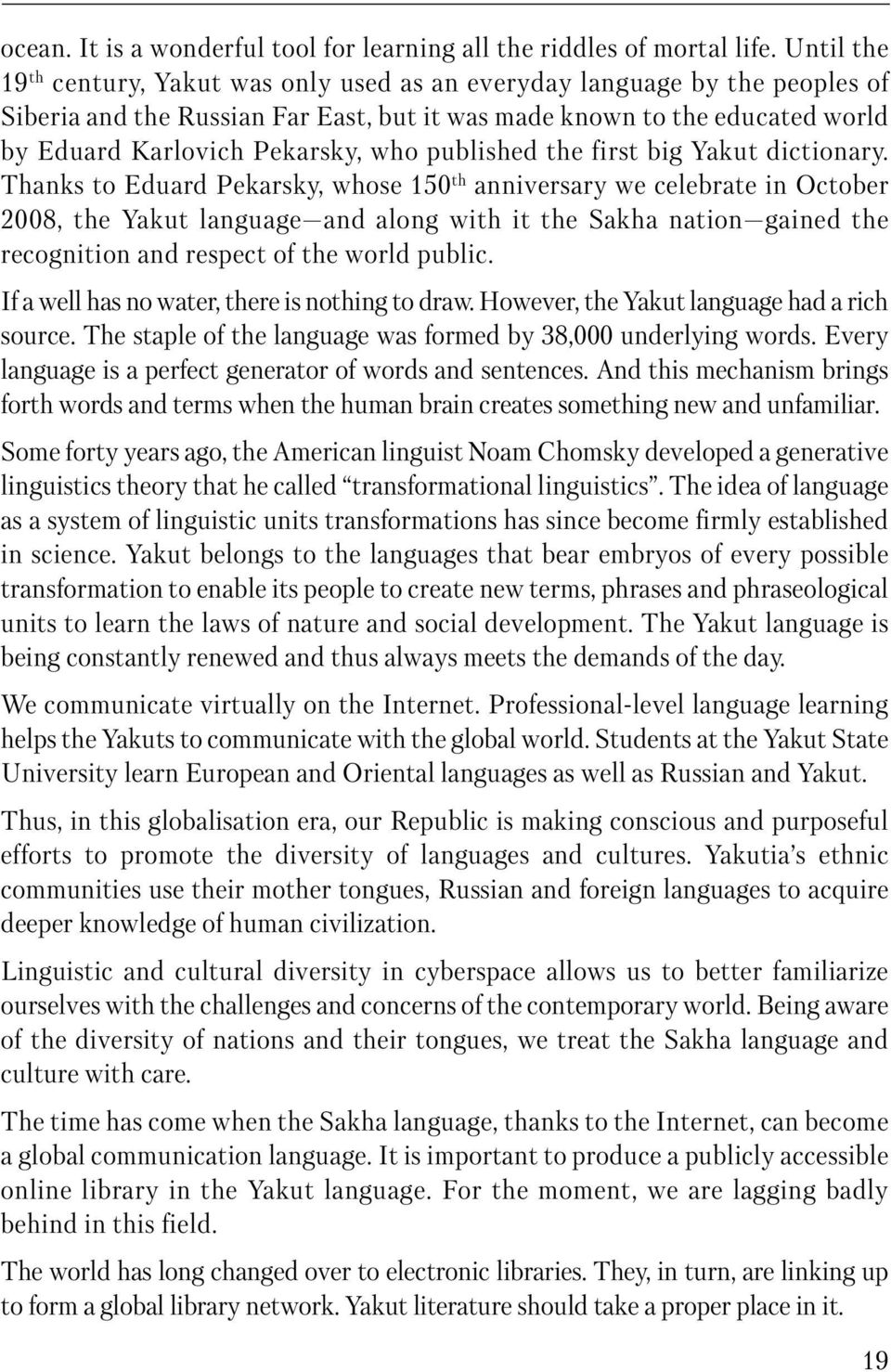 published the first big Yakut dictionary.