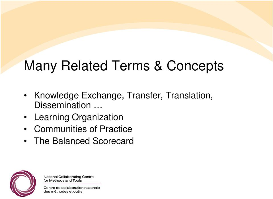 Translation, Dissemination Learning