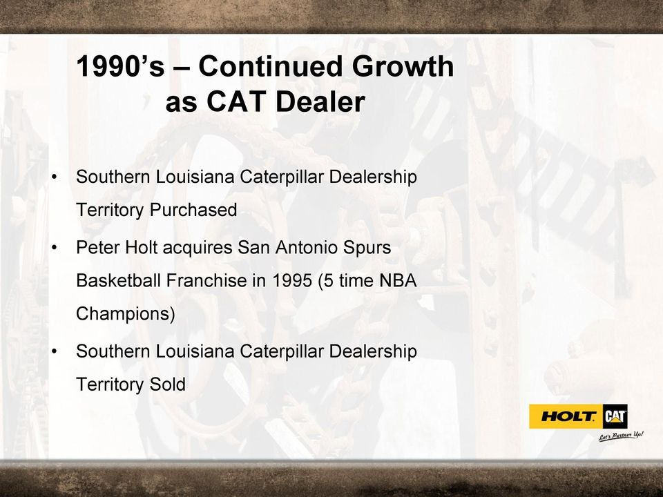 acquires San Antonio Spurs Basketball Franchise in 1995 (5
