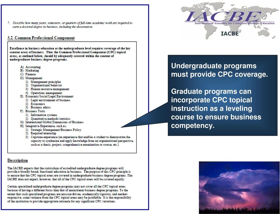 Graduate programs can incorporate CPC