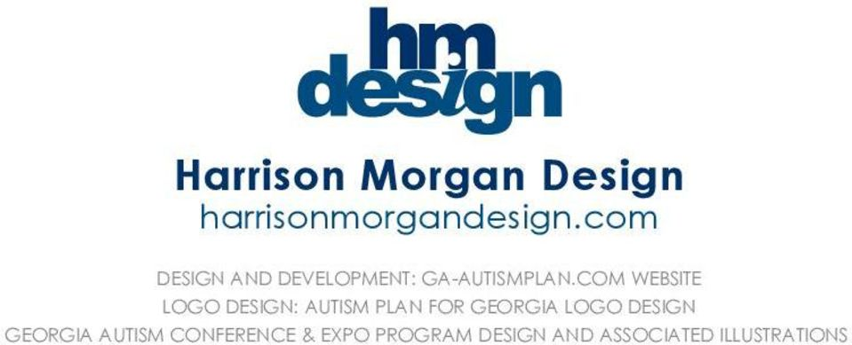 COM WEBSITE LOGO DESIGN: AUTISM PLAN FOR GEORGIA LOGO