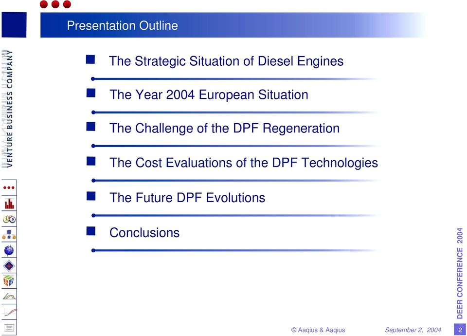 of the DPF Regeneration The Cost Evaluations of the