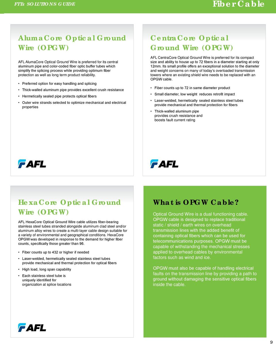 FTTx Solutions Guide GRAYBAR - PDF
