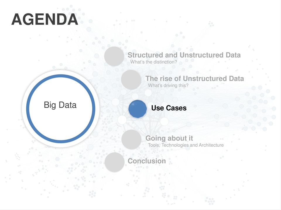 The rise of Unstructured Data What s driving