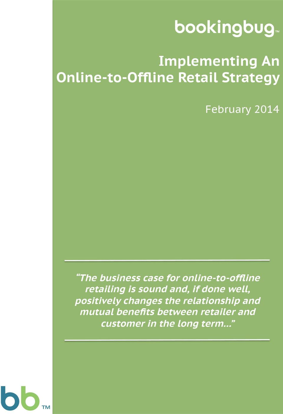 The business case for online-to-offline retailing is sound