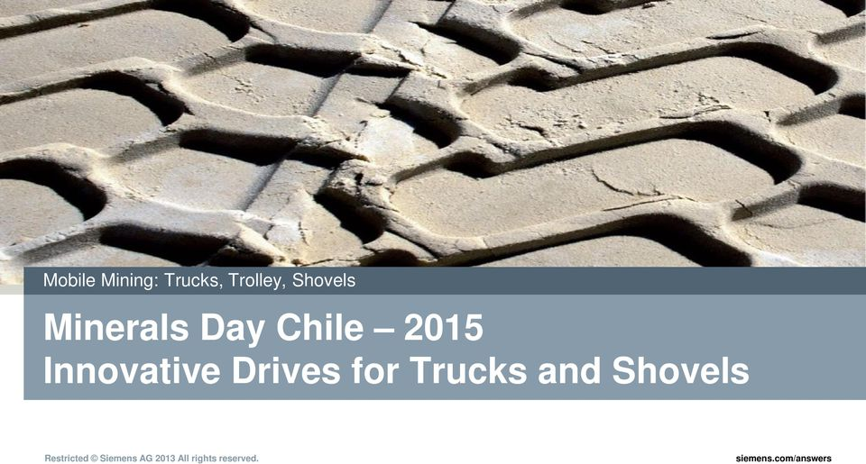 Chile 2015 Innovative Drives
