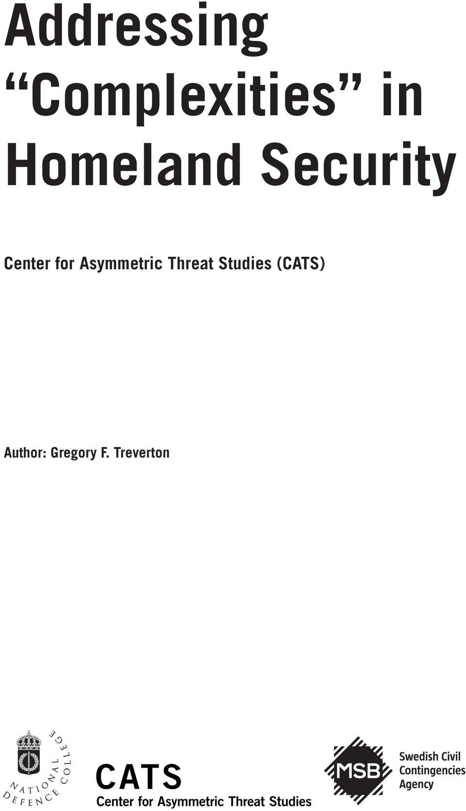 Asymmetric Threat Studies