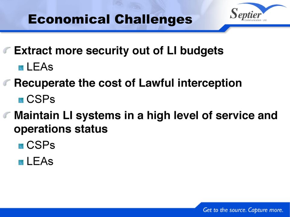 LEAs Recuperate the cost of Lawful interception