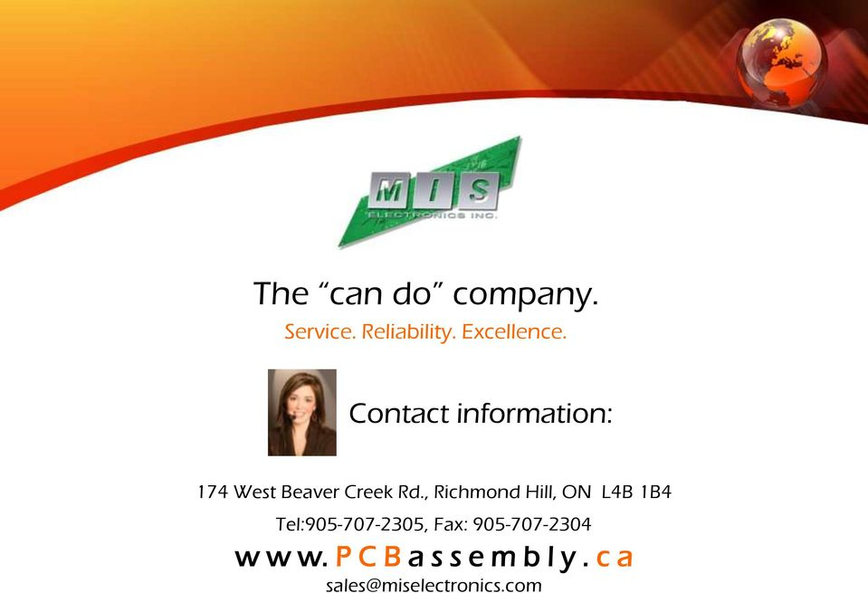 , Richmond Hill, ON L4B 1B4 Tel:905-707-2305, Fax: