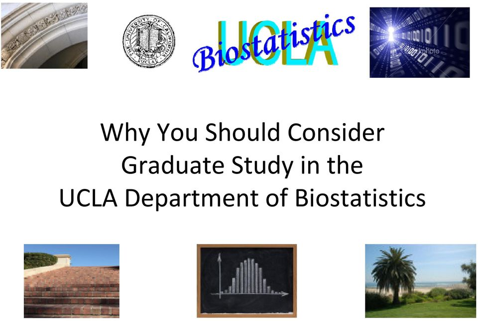 Study in the UCLA
