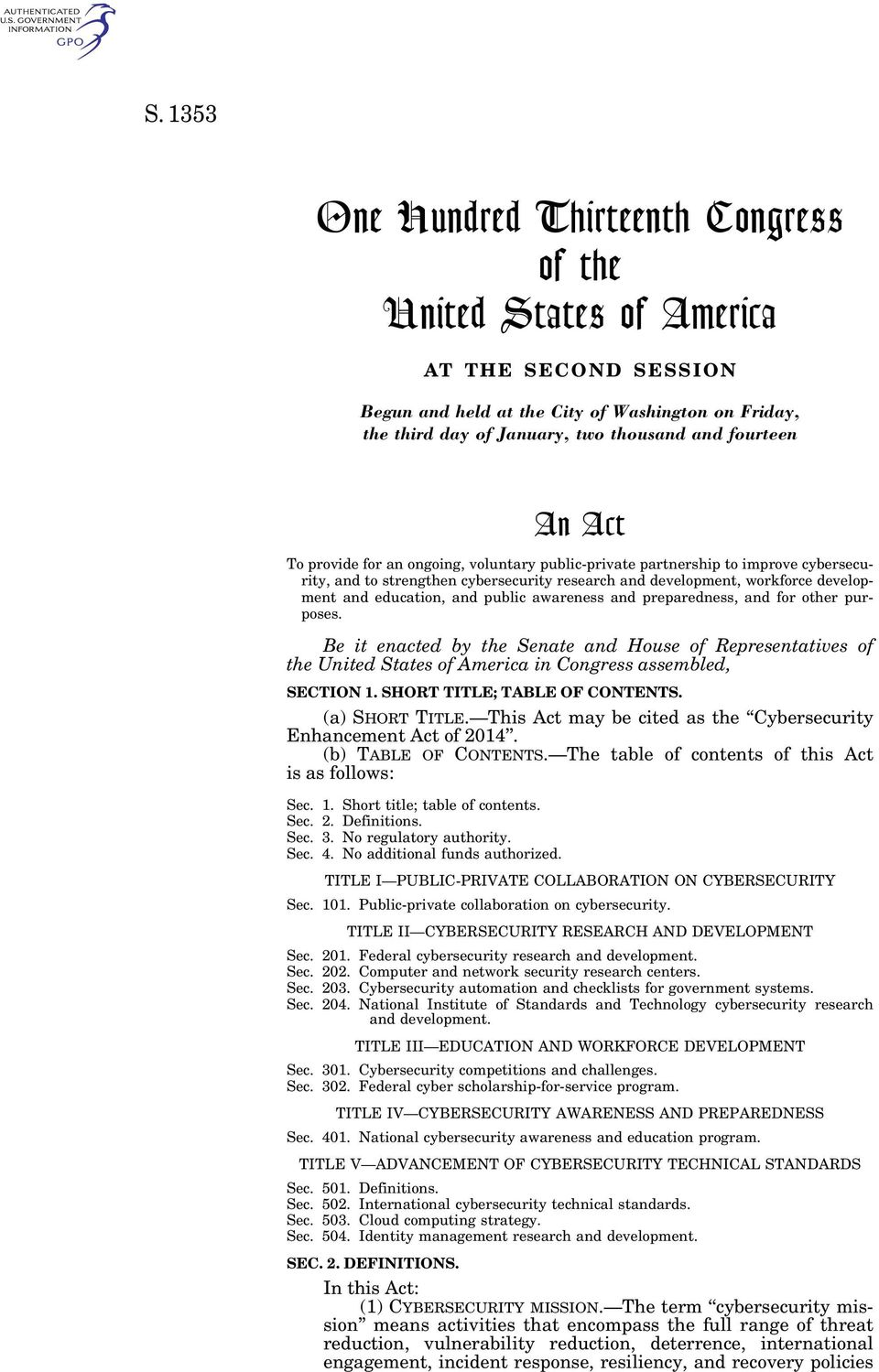 public awareness and preparedness, and for other purposes. Be it enacted by the Senate and House of Representatives of the United States of America in Congress assembled, SECTION 1.