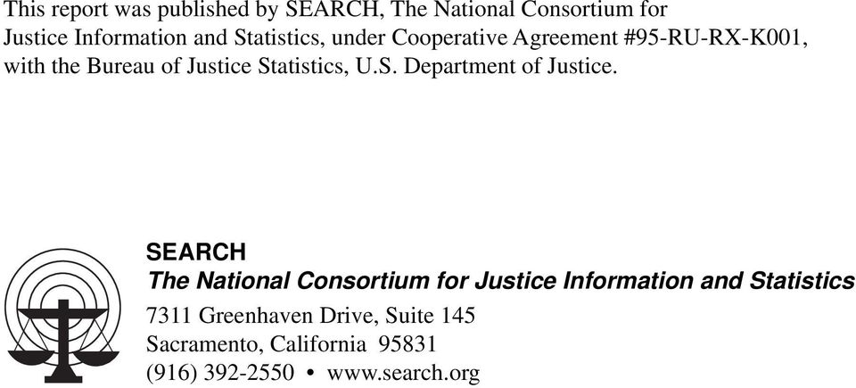 Statistics, U.S. Department of Justice.