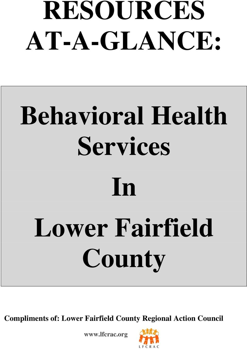 County Compliments of: Lower Fairfield