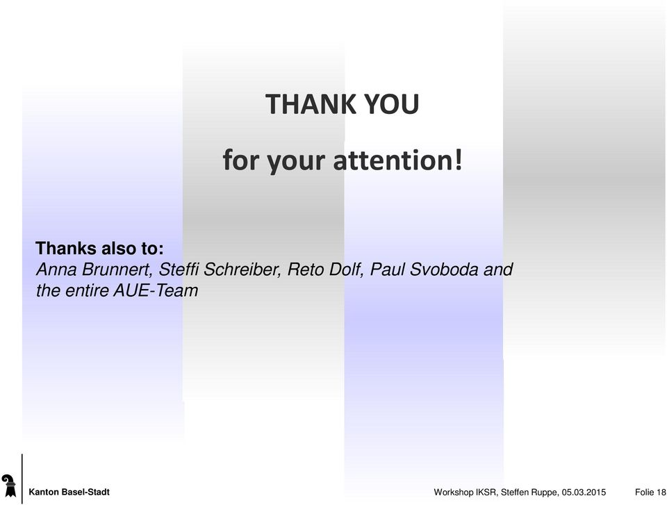 Reto Dolf, Paul Svoboda and the entire AUE-Team