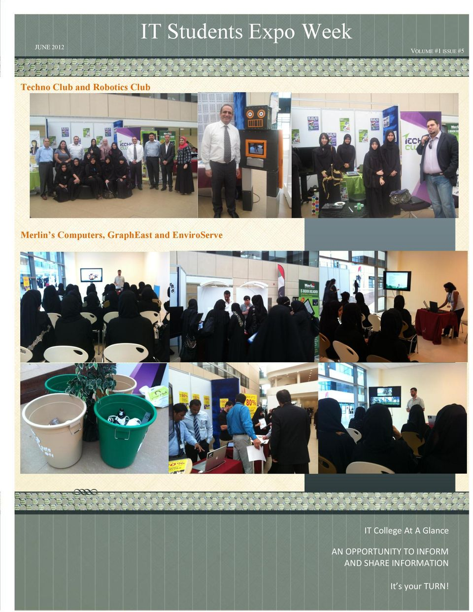 GraphEast and EnviroServe IT College At A Glance AN