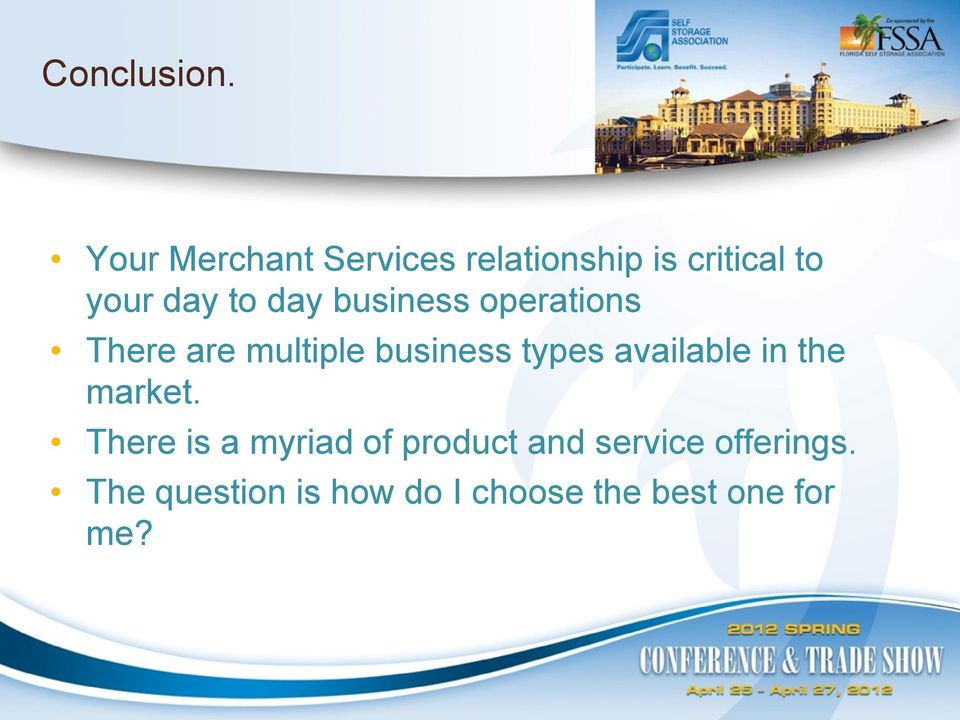 day business operations There are multiple business types