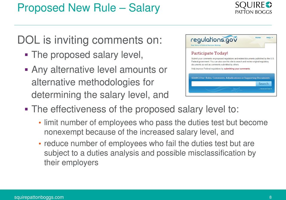 number of employees who pass the duties test but become nonexempt because of the increased salary level, and reduce