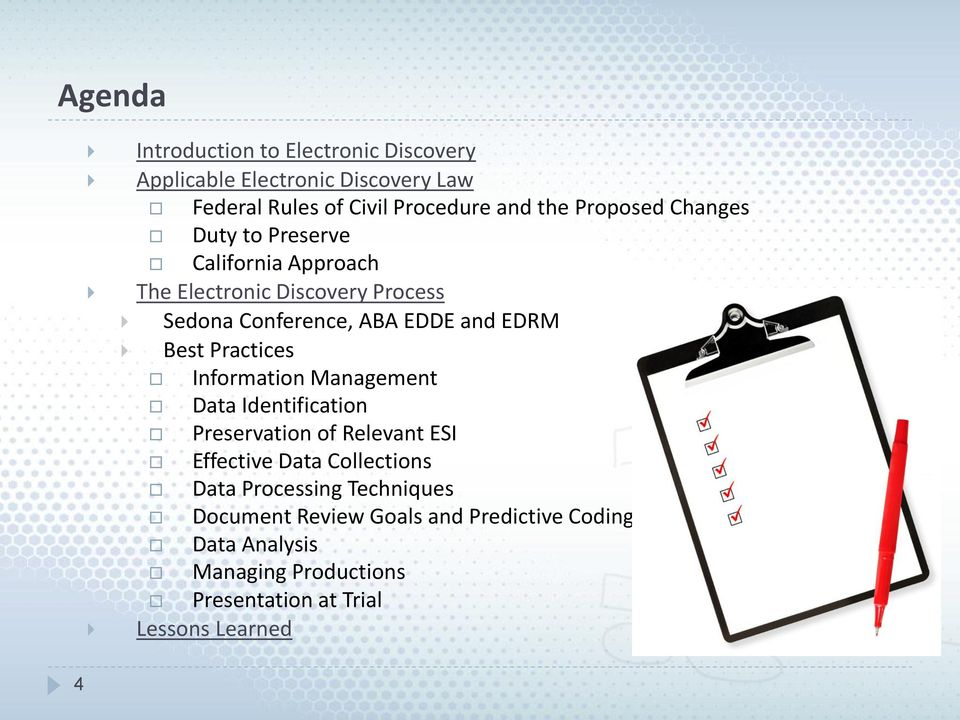 Best Practices Information Management Data Identification Preservation of Relevant ESI Effective Data Collections Data