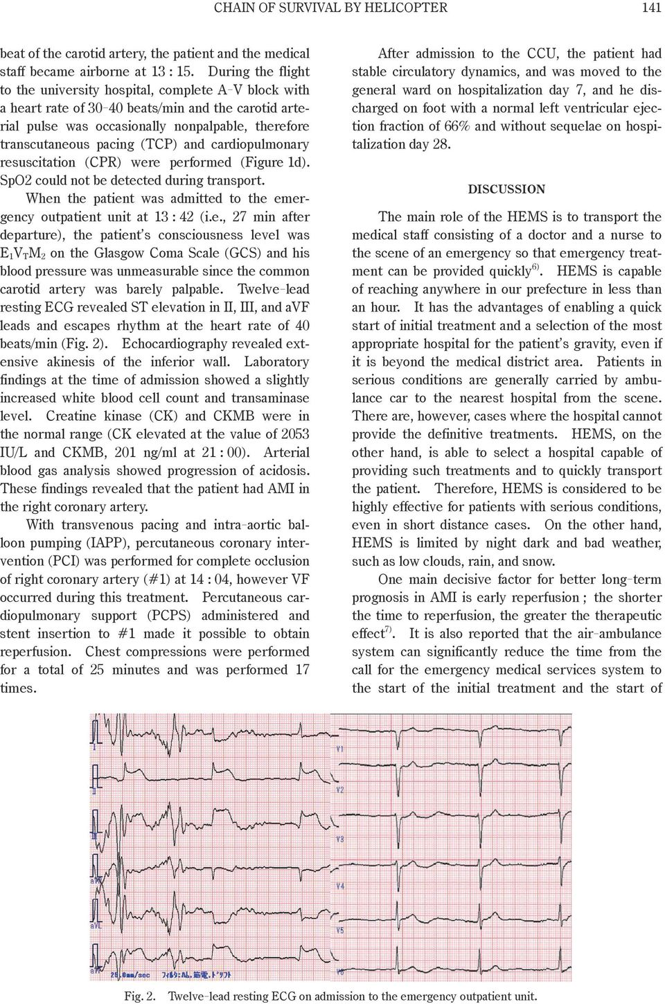 (TCP) and cardiopulmonary res