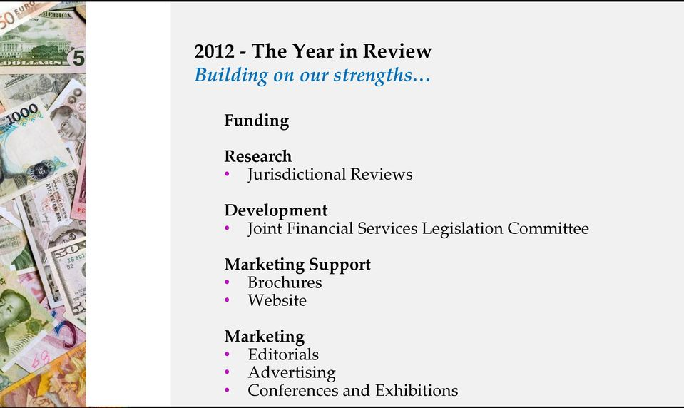 Services Legislation Committee Marketing Support Brochures