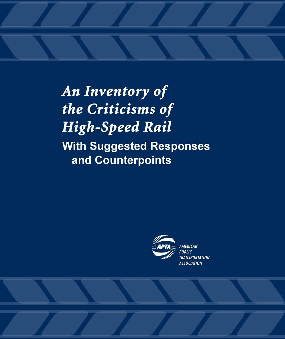 High-Speed Rail With