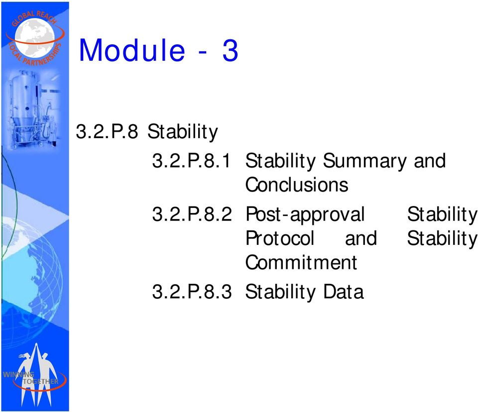 1 Stability Summary and Conclusions 3.2.P.