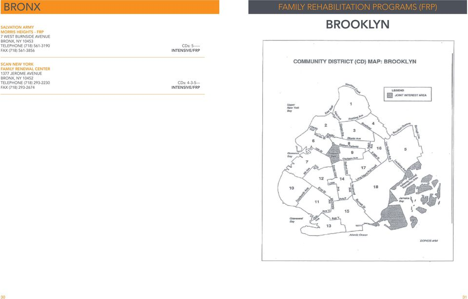 REHABILITATION PROGRAMS (FRP) BROOKLYN SCAN NEW YORK FAMILY RENEWAL CENTER 1377