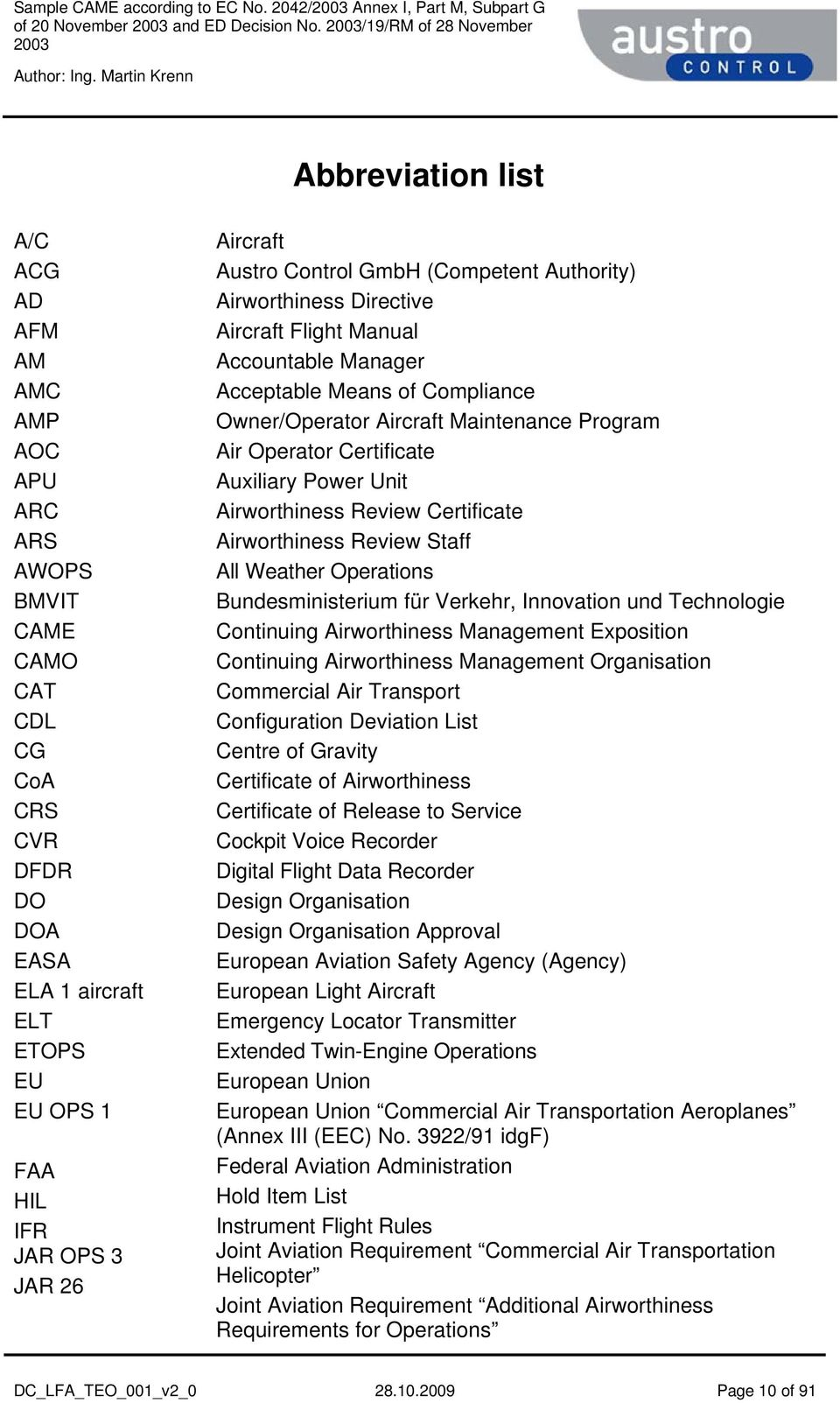 Sample continuing airworthiness management exposition came certificate auxiliary power unit airworthiness review certificate airworthiness review staff all weather operations bundesministerium fr verkehr yadclub