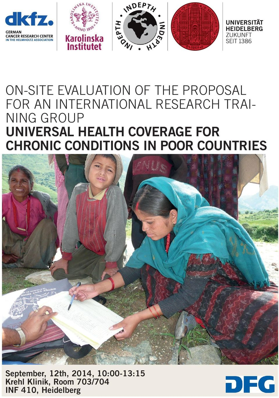 CHRONIC CONDITIONS IN POOR COUNTRIES September, 12th,