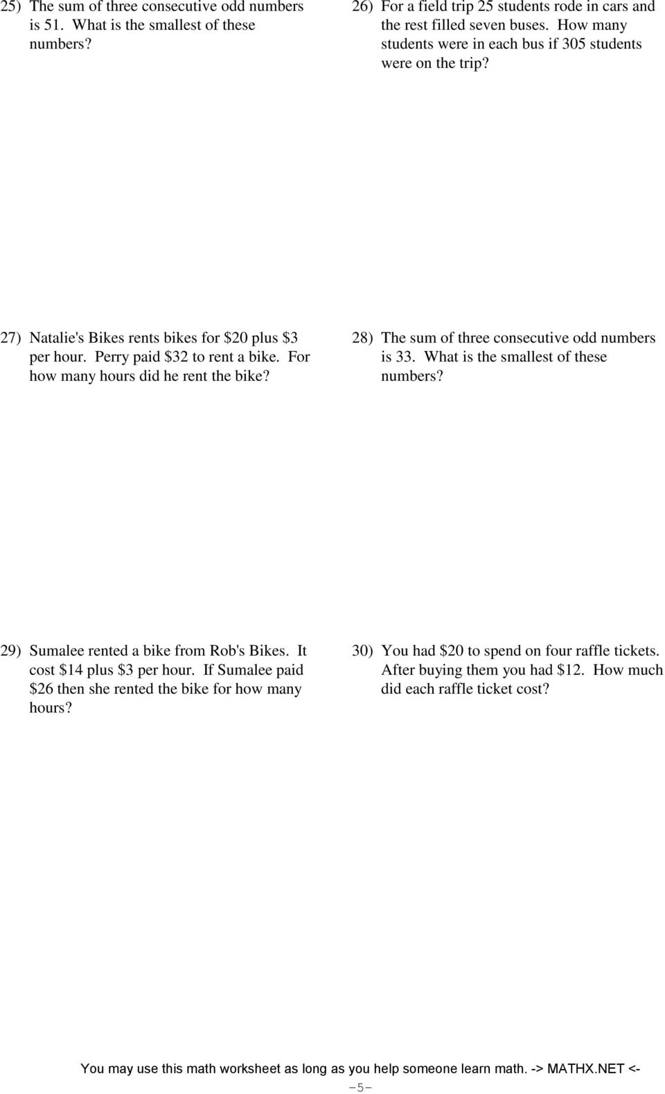 System Of Equations Word Problems Pdf Jennarocca – Two Step Equations Word Problems Worksheet