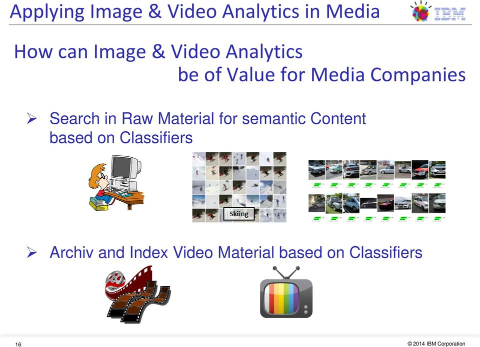 in Raw Material for semantic Content based on