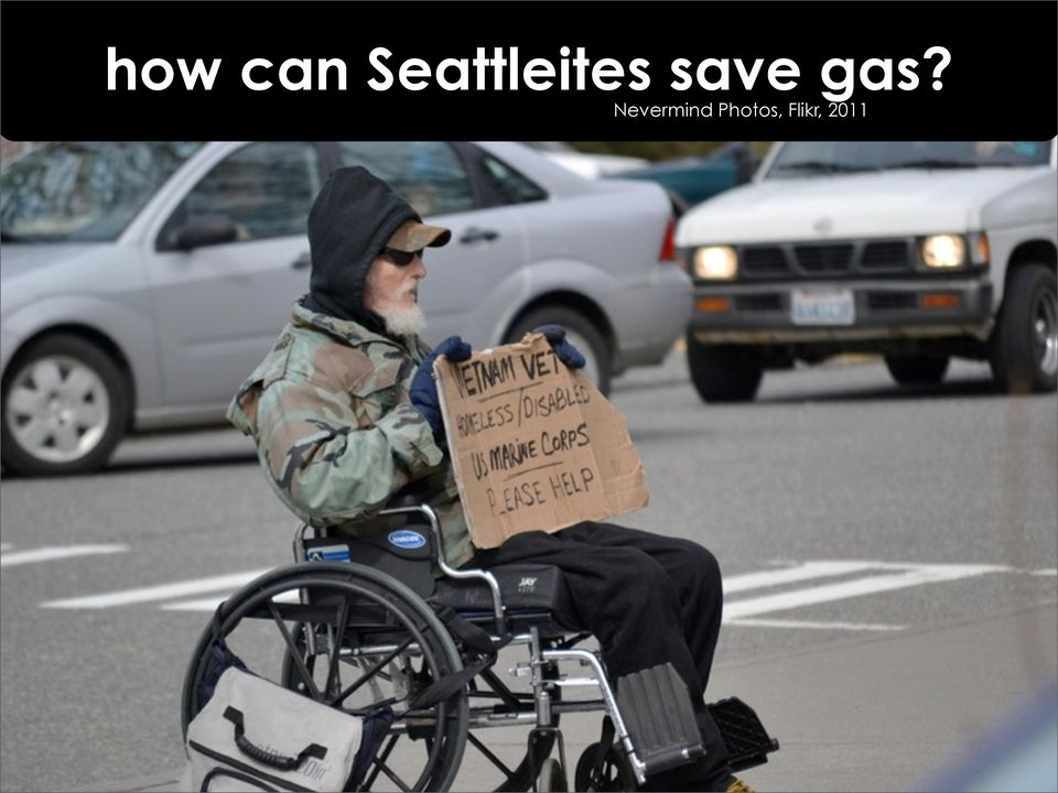 save gas?