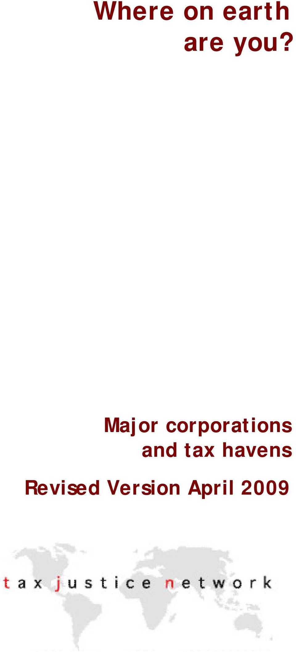 corporations and tax