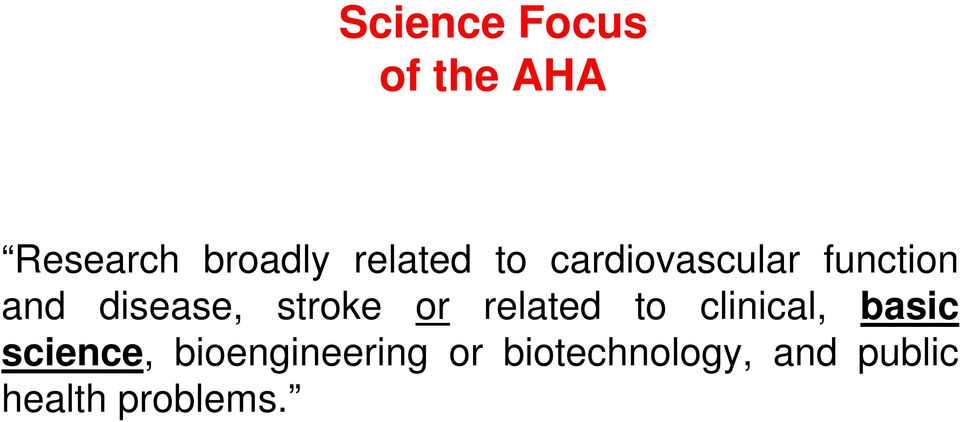 stroke or related to clinical, basic science,