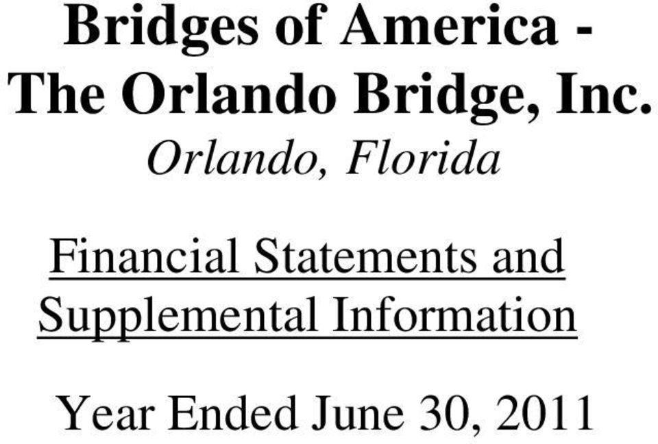 Orlando, Florida Financial