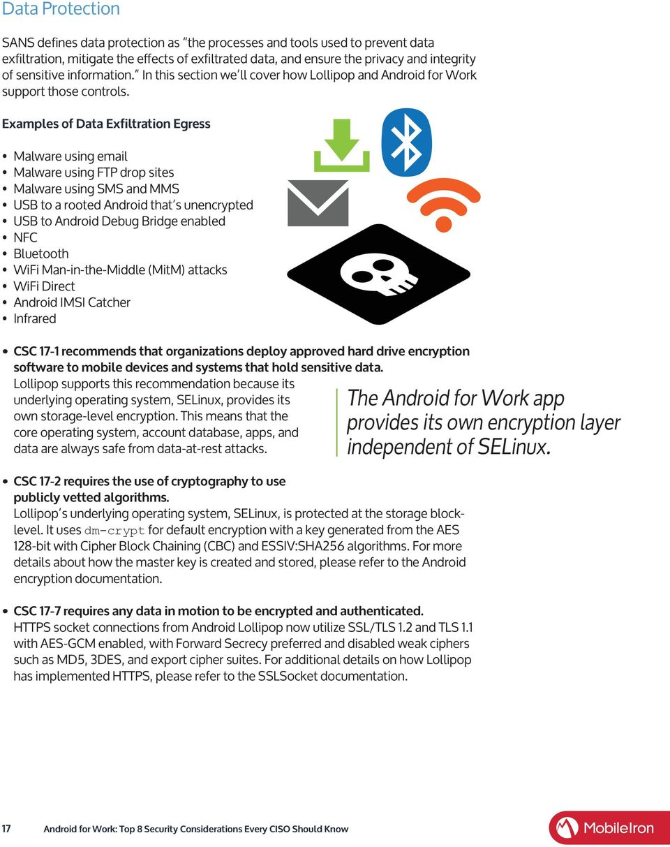 Android for Work: Top 8 Security Considerations Every CISO Should
